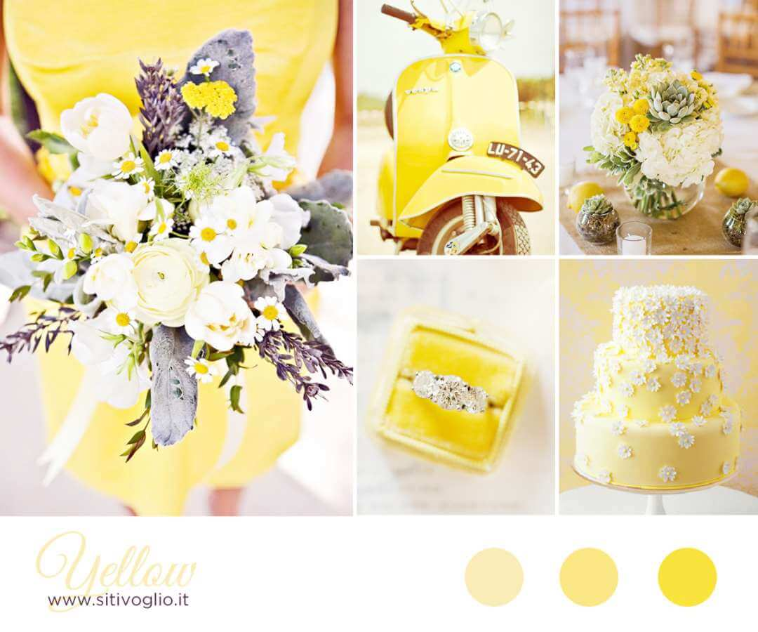 Inspiration Board: Yellow Ispirazioni
