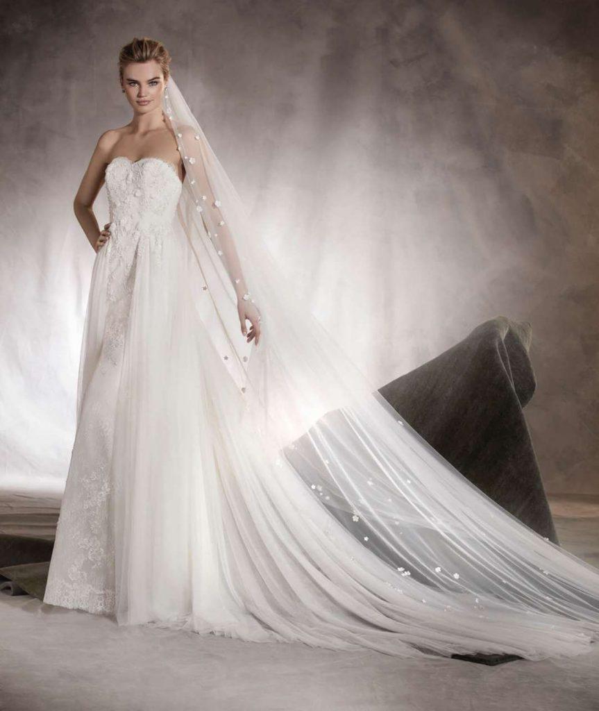 Abito da sposa. Tutte le collezioni P/E 2017. Consigli Ispirazioni  Abito da sposa