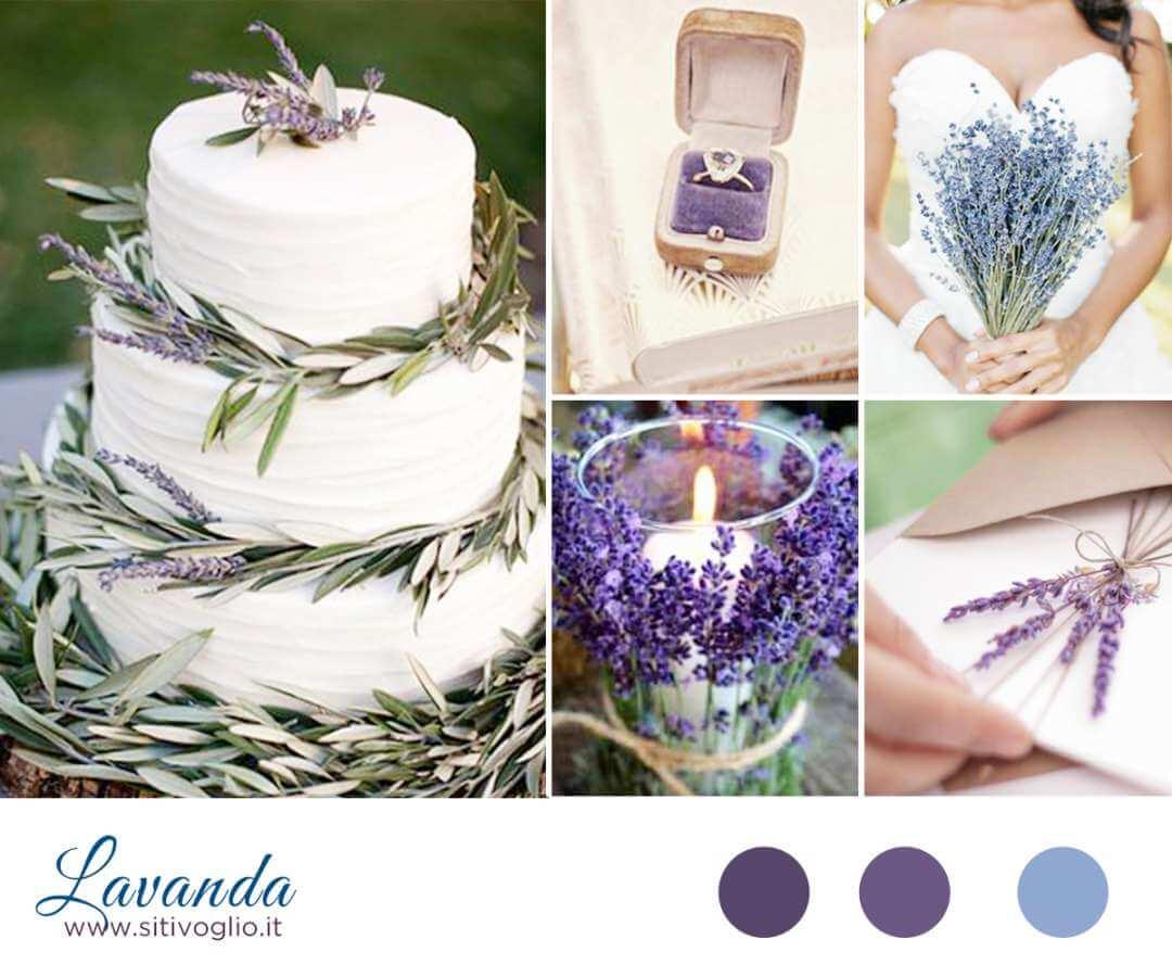 Eccezionale Inspiration Board: Lavanda - Sì, ti voglio - Consigli da wedding YM07
