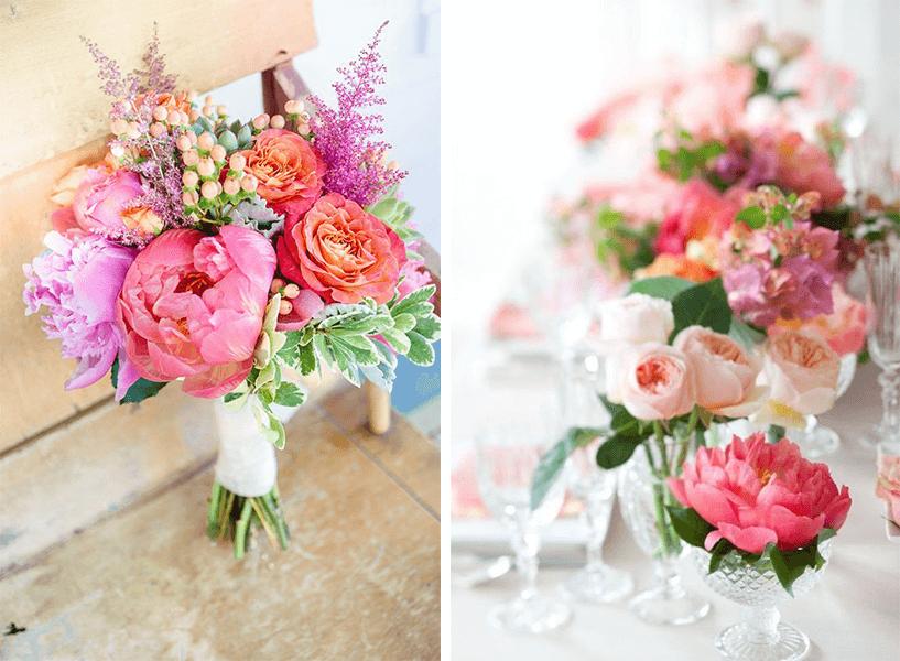 Ogni stagione ha il suo fiore perfetto! È fondamentale tenerne conto e saper scegliere per le proprie nozze! Ispirazioni  fiori Decorazioni consigli
