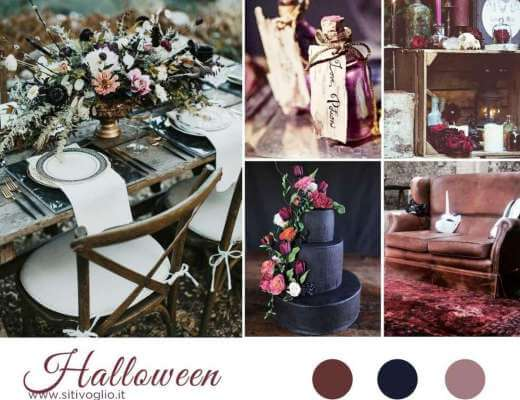 Inspiration board Halloween Featured Ispirazioni  Matrimoni a tema Inspiration board